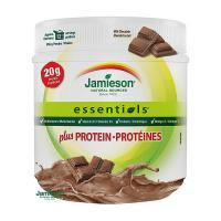 JAMIESON ESSENTIALS PLUS PROTEÍN prášok s príchuťou mliečnej čokolády 1 x 355 g