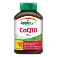 JAMIESON Koenzým Q10 120 mg 60 kapsúl