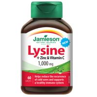JAMIESON LYZÍN 1 000 mg SO ZINKOM A VITAMÍNOM C tbl 1x60 ks