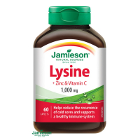 JAMIESON Lyzín 1000 mg so zinkom a vitamínom C 60 tabliet
