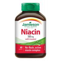 JAMIESON Niacín 500 mg s inozitolom 60 tabliet