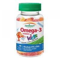 Jamieson Omega-3 Kids Gummies želatínové pastilky pre deti 60 kusov
