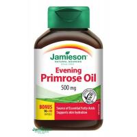 JAMIESON Pupalkový olej 90 + 90 ZADARMO