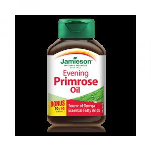 JAMIESON Pupalkový olej 90+90 zadarmo
