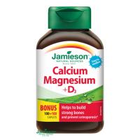 JAMIESON Vápnik, horčík s vitamínom D3 200 tabliet