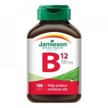 JAMIESON Vitamín B12 metylkobalamín 100 mcg 100 tabliet