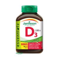 JAMIESON Vitamín D3 1000 IU 240 tabliet
