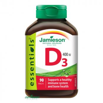 JAMIESON Vitamín D3 400 IU 90 tabliet