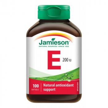 JAMIESON Vitamín E 200 IU 100 kapsúl