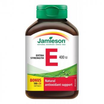 JAMIESON Vitamín E 400 IU 120 kapsúl