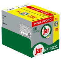 JAR Platinum tablety do umývačky megabox 135 ks