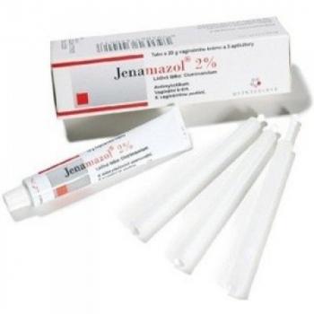 JENAMAZOL 2% vaginálny krém s aplikátorom 20 mg