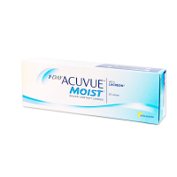 JOHNSON & JOHNSON Acuvue 1 Day Moist 30 šošoviek