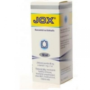 JOX koncentrát na kloktadlo 50 ml