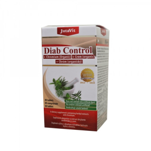 JUTAVIT Diab kontrol + organický chróm 80 tabliet