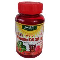 JUTAVIT Gumkáči vitamín D3 20 µg - kids 60 gum