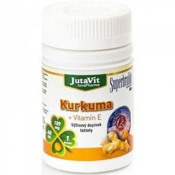 JUTAVIT Kurkuma + Vitamín E 60 tabliet
