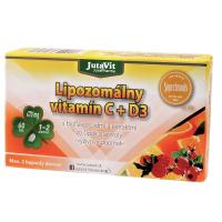 JUTAVIT Lipozomálny vitamín C + D3 60 tabliet
