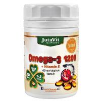JUTAVIT Omega 3 1200 mg + vitamín E 100 kapsúl