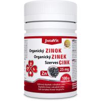 JUTAVIT Organický Zinok 25 mg tablety 100 ks