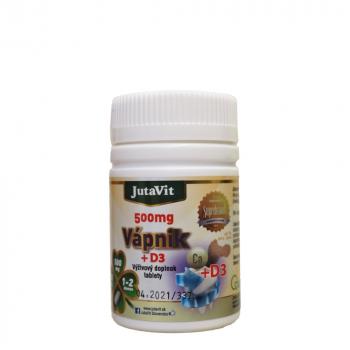 JUTAVIT Vápnik 500 mg s vitamínom D3 50 tabliet