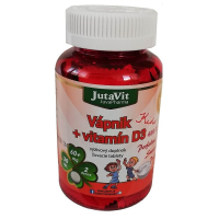 JUTAVIT Vápnik + vitamín D3 - kids 30 tabliet