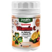 JUTAVIT Vitamín C 1000 so šípkami + vitamín D3 100 tabliet