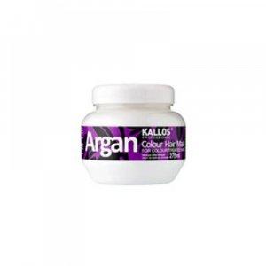 KALLOS Argan maska pre farbené vlasy 275 ml