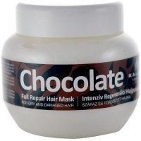 KALLOS Čokoládova maska pre suché a poškodené vlasy 275 ml