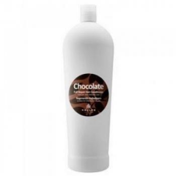 KALLOS Čokoládová kondicionér pre suché a poškodené vlasy 1000 ml