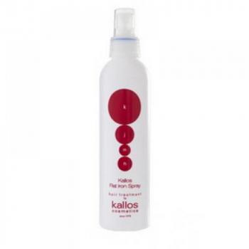 Kallos KJMN ochranný sprej pre tepelnú úpravu vlasov (Flat iron spray) 200 ml