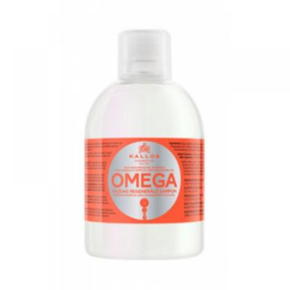 Kallos KJMN šampón s Omega komplexom pre poničené vlasy 1000 ml