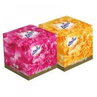 LINTEO Papierové vreckovky Premium BOX 3-vrstvové 60 kusov