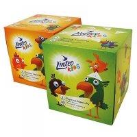 LINTEO Papierové vreckovky Kids BOX 2-vrstvové 80 kusov