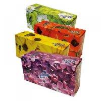 LINTEO Papierové vreckovky BOX 2-vrstvové 150 kusov