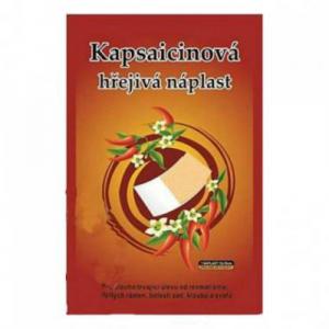 Kapsaicinová hrejivá náplasť CAPSICOLLE 12x18 cm 50ks