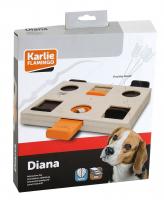 KARLIE Interaktívna drevená hračka Diana 29 x 24 x 2,5 cm