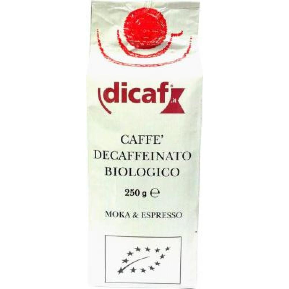 Káva mletá bez kofeínu DICAF 250g-BIO
