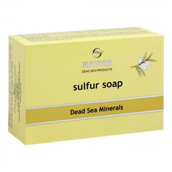 KAWAR Sírové mydlo s minerálmi z Mŕtveho mora 120 g