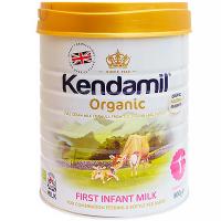 KENDAMIL 1 BIO Organické Počiatočné dojčenské mlieko od 0 - 6 mesiacov 800 g