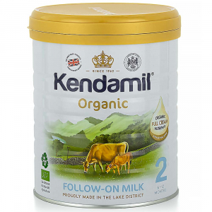 KENDAMIL 2 BIO DHA+ Organické pokračovacie dojčenské mlieko od 6 - 12 mesiacov 800 g