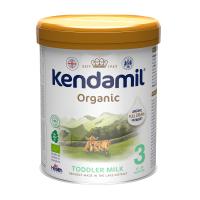 KENDAMIL 3 BIO DHA+ Organické pokračovacie batoľacie mlieko od 12 - 36 mesiacov 800 g