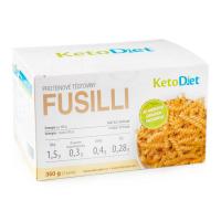 KETODIET Fusilli proteínové cestoviny 7 porcií