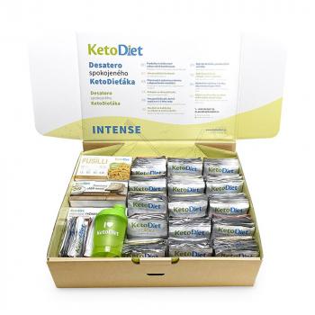 KETODIET proteínová diéta INTENSE 1. krok 140 porcií VÝHODNÉ balenie