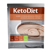 KETODIET Proteínová kaša s čokoládovou príchuťou 7 porcií
