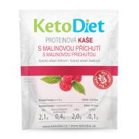 KETODIET Proteínová kaša s malinovou príchuťou 7 porcií