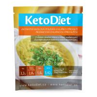KETODIET Proteínová polievka Kuracia s rezancami 7 porcií