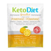 KETODIET Proteínové smoothie s pomarančovou príchuťou 7 porcií