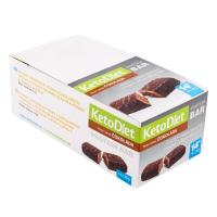 KETODIET Proteínové tyčinky príchuť Čokoláda 14 ks