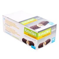 KETODIET Proteínové tyčinky príchuť Kokos-banán 14 ks